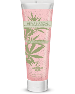 Hemp Nation Natural Fruit & Sugar Scrub 235 ml