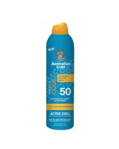 Fresh&Cool Spf50 Spray Continuos Active Chill - 177 ml