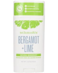 Natural Bergamotto + Lime 92 gr